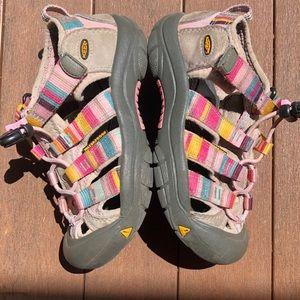 Keen rainbow waterproof sandals size 12